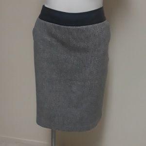 Worthington gray skirt